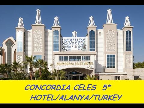 CONCORDIA CELES  Hotel 5*/Турция/Алания