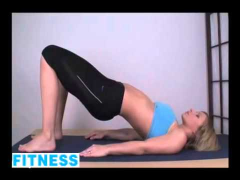 Yoga Exercise Routine of a Hot Pretty Sexy Woman