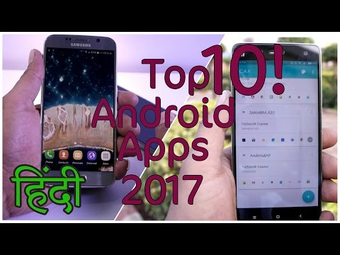 Top 10 Best Android Apps For 2017 HINDI #1