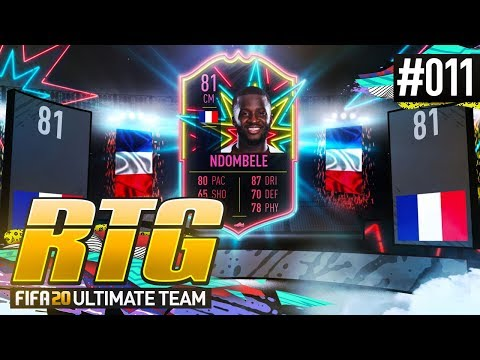 COMPLETING OTW NDOMBELE OBJECTIVES! - #FIFA20 Road to Glory! #11 Ultimate Team