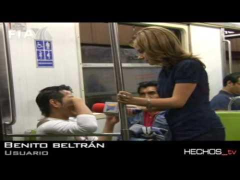 nalgas en el  metro