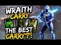 Paragon Wraith Gameplay   THE BEST CARRY?!