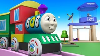 Bob the Train - Toy factory Cartoon - Thomas and Friends - Chu Chu Train - trains for kids