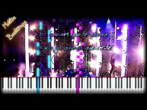 ★ Violetta  Cómo quieres ★ easy piano tuto