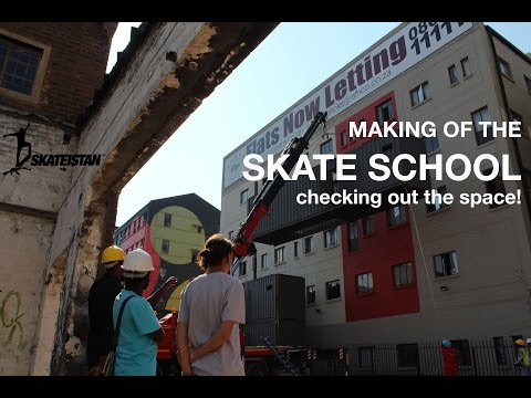 Skateistan South Africa Update 2: Tour of the Skate School