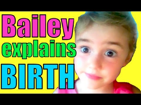 Bailey explains birth and placenta!