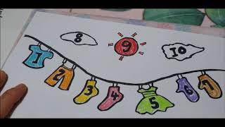 a  variety  of  clothes  and  numbers  coloring   for  kids   toddlers