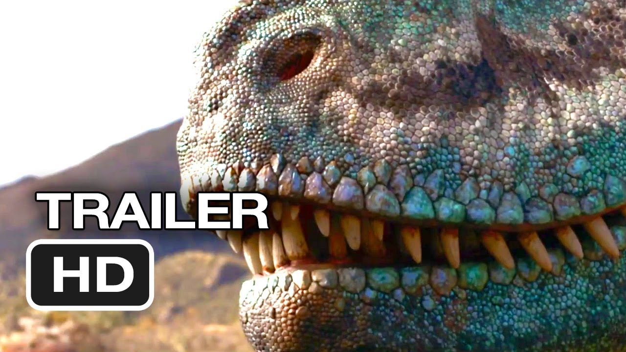 walking with dinosaurs 3d official trailer 1 2013 cgi