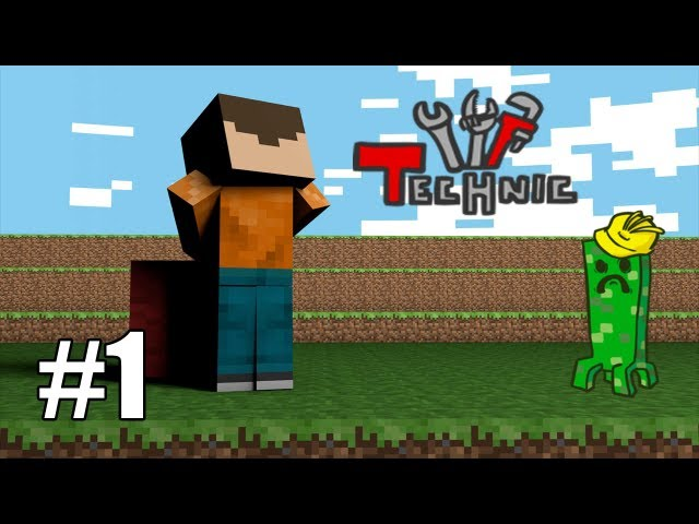 "Minecraft: Technic Pack #1 ""Cat de multe chestii noi..."""