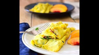 How to make a Healthy Egg Wrap for DASH diet