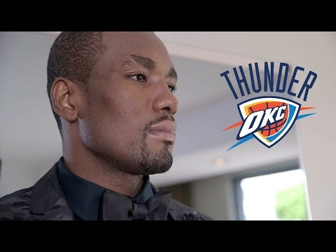 Serge Ibaka Breaks Down HIS STYLE! 2014 ESPY's presented by Capital One!