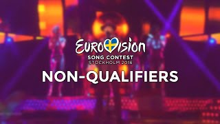 Eurovision 2016 - Non-qualifiers