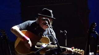 "Neil Young ""Out On The Weekend"" 7/12/18 Boston, MA"