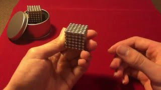 Simple Tutorial for magnetic cube (Buckyballs, Zen Magnets, NeoCube)