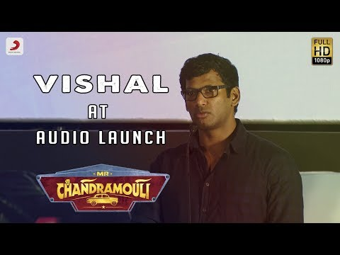 Vishal Speech at Mr. Chandramouli Audio Launch