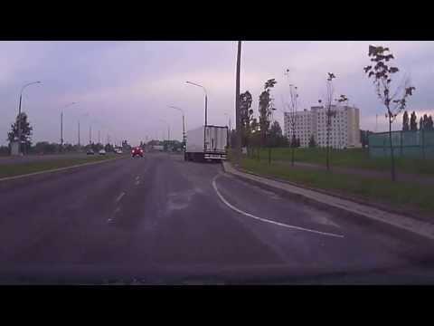ДТП DAEWOO LANOS VS VOLVO V70  16.05.2013 Минск