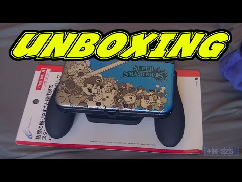 Unboxing  and Impressions on 3DS XL Cyber Grip (w/ Sean)