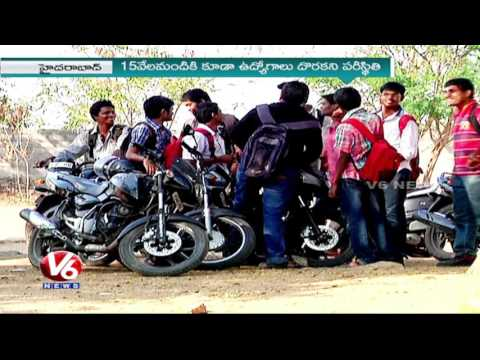 Special Report On Engineering Courses | Students Show Less Opt | V6 News