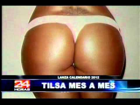 Tilsa Lozano lanza calendario 2012