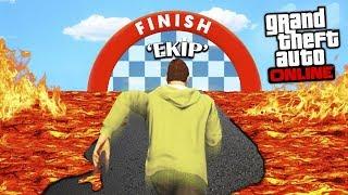 AŞŞAĞI DÜŞERSEN ÖLÜRSÜN !! (YENİ %99 İMKANSIZ PARKUR!!) - GTA 5 Online (Sesegel,Ümidi,OyunPortal)