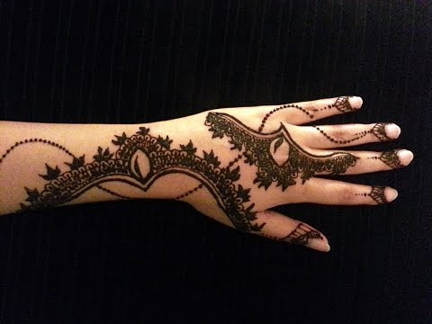 Arabic Simple Henna - Latest Mehndi Design - How To Apply Henna...