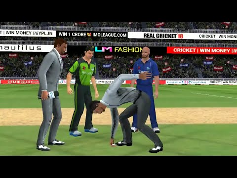 17th June T20 Ireland Vs Scotland Real Cricket 2018 aNdroid / IOS Gameplay