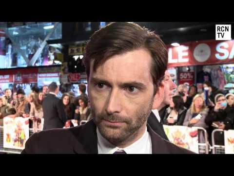 David Tennant Interview - Nativity 2 &amp; Doctor Who 50th Anniversary