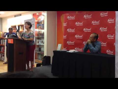 Mother speaks in support of gay son's book
