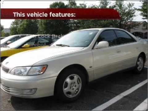 1999 Lexus ES 300 Luxury Sport Sdn in Bethesda, MD Video