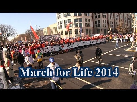 Impressive March for Life -- We're Winning & Abortion is Losing