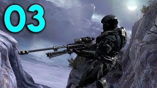 Halo Reach - Part 3 - Stealth Sniper Mission