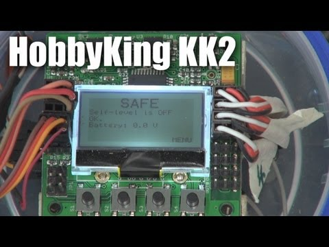 KK2 multirotor controller board from HobbyKing