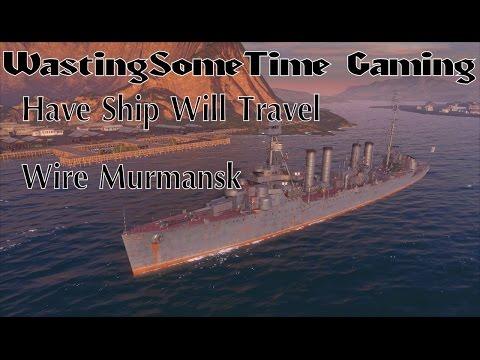 World of Warships Murmansk Russian Cruiser