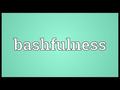 Header of bashfulness