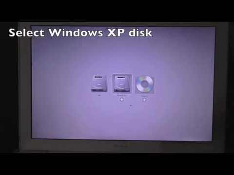 How to install Windows XP without BootCamp Utility on OS X 10.7 to OS X 10.9 Mavericks