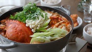 [ENG CC] 얼큰하고 구수한 꽃게탕🦀 : Korean Crab Stew [아내의 식탁]