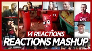 Sausage Party Official Trailer (Red Band) Reactions Mashup (14 Best Reactions)
