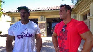Bodybuilding Museum and History class at JAY CUTLER's House after the 2018 Olympia