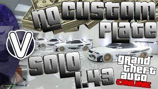 GTA 5 Online | SOLO UNLIMITED MONEY GLITCH 1.43 *NO CUSTOM PLATE* WORKING !! (GTA 5 Online Glitches)