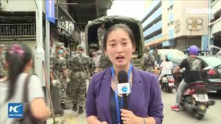 LIVE: Chinese troops in Macao help with disaster relief