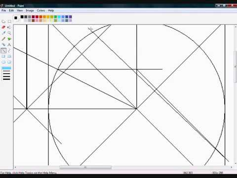how to draw perfect symmetry in gimp