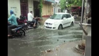 Heavy Rainfall Lashes Hyderabad