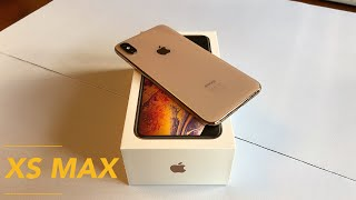 Unboxing: iPhone XS Max (Gold)