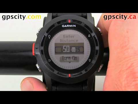 Setting the GPS Alarms in the Garmin fenix Outdoor GPS Navigation Watch