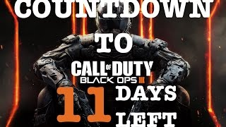 Pre-Order 3 Day Early Access (Countdown to Black Ops 3 *11 Days*)