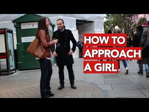How to approach a girl in the street?