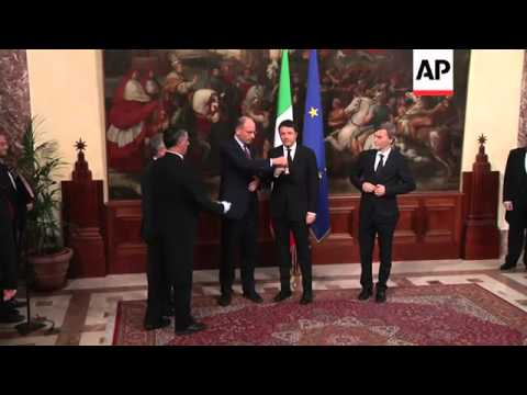 Matteo Renzi became Italy's youngest premier on Saturday, promising a new era of stable government a