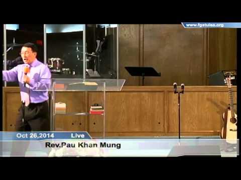 [FGATulsa]#1073#Oct 26,2014 English Service (Pastor Pau Mung