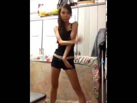 Hot Chinese girl dancing