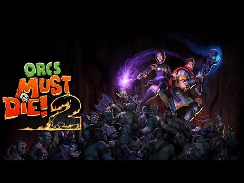 Orcs Must Die 2 |Gameplay| [II X4 631 & HD6450 1GB] HD